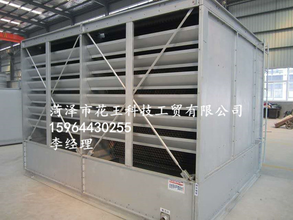 安装好的复合式空冷器